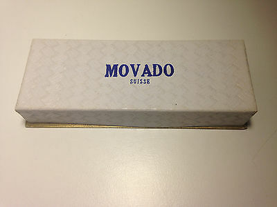 Ultra Rare Vintage Chronograph Movado M95 Watch Box