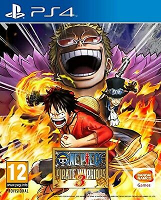 One Piece Pirate Warriors 3 PS4 PlayStation 4 Video Game Mint Cond UK Release