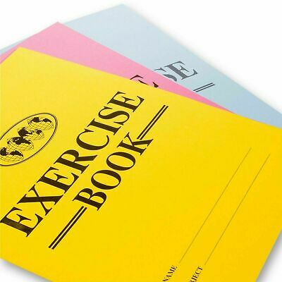 A4 A5 Home Schooling School Exercise Books -32 Pages - lined ruled ECONOMY book