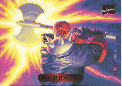 1994 Marvel Masterpieces BLOODAXE #15