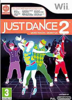Just Dance 2 (Wii) - USED *VGC*