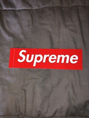 BOX LOGO 100/% AUTHENTIC!!! /& OTHERS SPRING//SUMMER 2020 SUPREME STICKERS