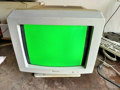 Vintage Relisys Crt Monitor Model Re515E Manufactured 1989