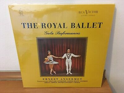 2LPs THE ROYAL BALLET GALA PERFORMANCES ANSERMET CLASSIC RECORDS 2X180g VINYL
