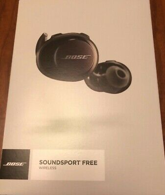 Bose SoundSport Earpiece Free Truly Wireless Sport Headphones Black, Excellent
