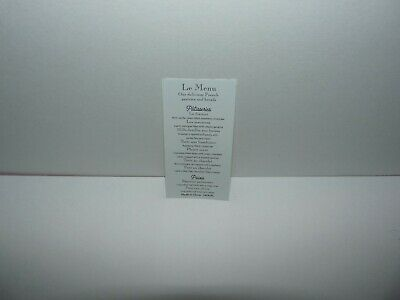 American Girl Doll Grace's Bistro Menu Replacement Part NEW!