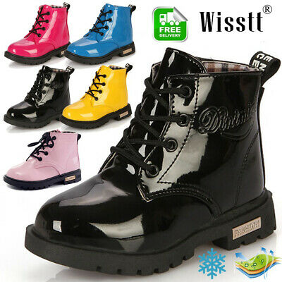 Fall Winter Children kids Martin Boots Snow Baby Shoes Toddler Boys Girls Boots