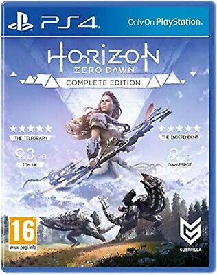 Horizon Zero Dawn Complete Edition PS4 PlayStation 4 Video Game UK Release