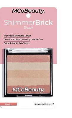 MCoBeauty ~ SHIMMER BRICK ~ BLUSH PALETTE ~ NEW IN PACK ~ RRP $18.00 ~