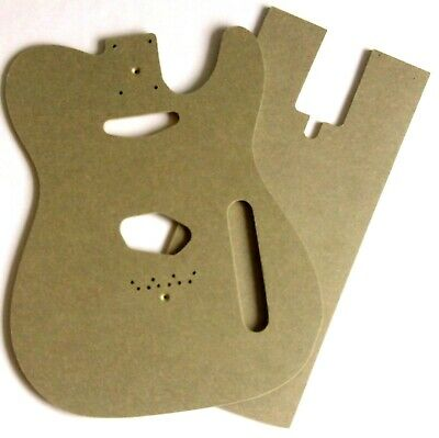 Telecaster Style Guitar Body Routing Templates