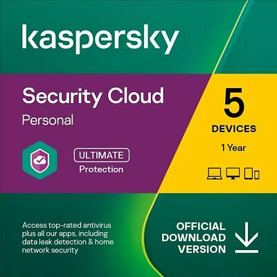 KASPERSKY SECURITY CLOUD PERSONAL 2020 - 5 PC DEVICE - MULTI DEVICE - Download