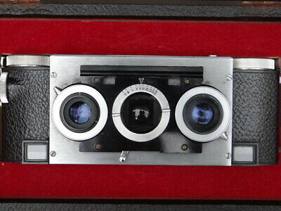 Custom Stereo Realist With Rare Earth Lenses, Boxed.