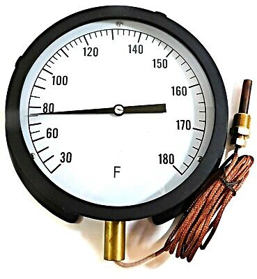 13G230 GRAINGER APPROVED Analog Panel Mt Thermometer,30 to 240F