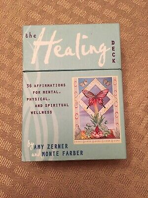 The Healing Deck 36 Affirmations for Mental Physical and Spiritual wellness