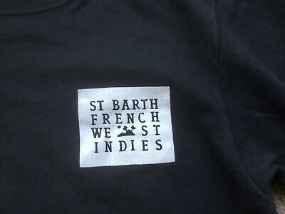 Saint-Barth French West Indies: T-Shirt Noir Taille M