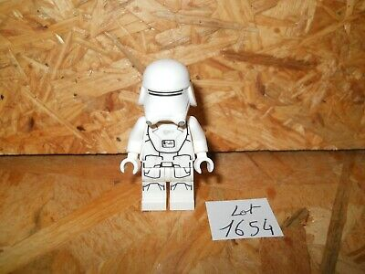 #1654# Lego Star Wars Figurine Personnage First Order Snowtrooper 100% Lego