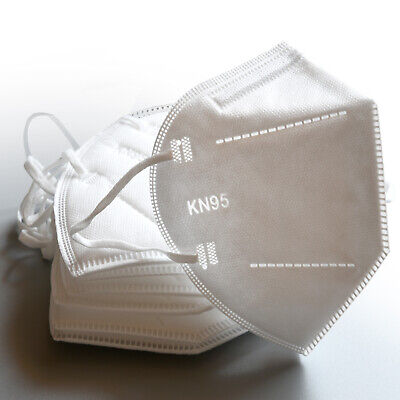 KN95 Safety Disposable Face Mask 5-Pack PM2.5 5-Layer Cover