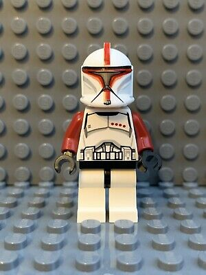 LEGO Star Wars Clone Trooper Captain 75021 Republic Gunship 75019 7681