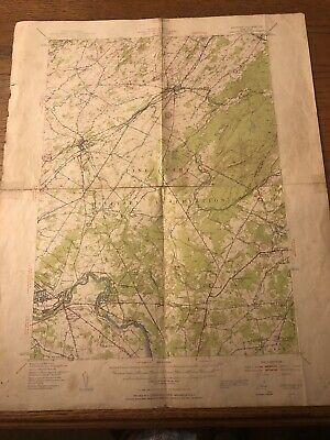 Vintage Quadrangle Map 1949 Pine Camp Military Reservation Fort Drum Geological