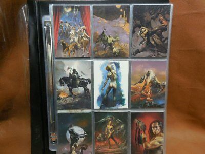 Artists Choice Collector Cards Complete 72 Card Set Comic Images 1997 Fantasy