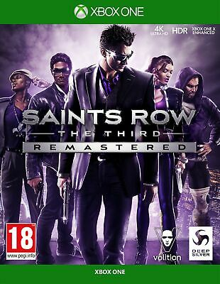 Saints Row The Third: Remastered (Xbox One) IN STOCK Brand New & Sealed