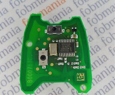 Citroen / Peugeot 2 Button Pcb Board B000787C - 0484