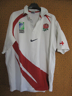 MAILLOT RUGBY ANGLETERRE Nike jersey England World cup 2007