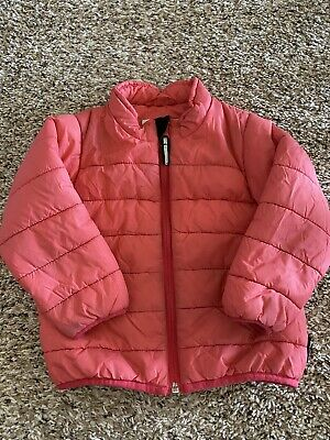 Polarn O Pyret Sweden 92 Girls Jacket Coat Pink 1.5-2 Years