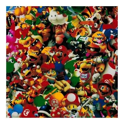 Hydrographic Water Transfer Hydro Dipping Film Mario Bomb 1M