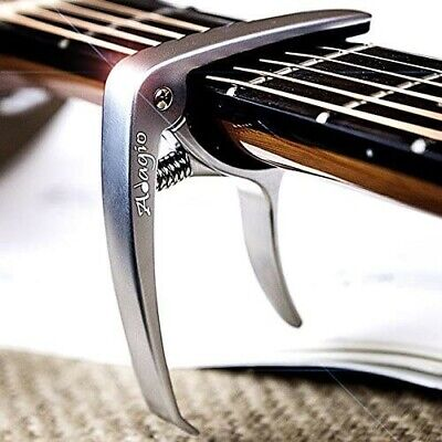 Adagio PRO DELUXE CAPO Suitable For Acoustic & Electric Guitars With Quick Relea