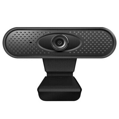 1080P Full HD Webcam with Video and Built-In Stereo Microphones