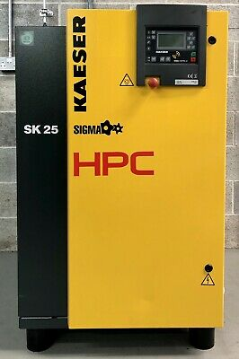 HPC / Kaeser SK25 Floor Mounted Rotary Screw Compressor! 88.2Cfm! Low Hours!