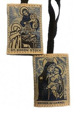 Brown Scapular of Our Lady of Mt. Carmel (traditional)