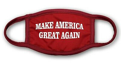 Make America Great Again Mouth and Nose Cover Face-Mask Triple Layer Protection