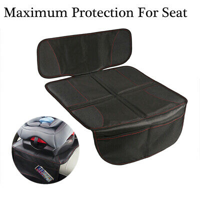 Car Seat Cover Mat Under Carseat Thickest Padding Seat Protector Leather Fabric