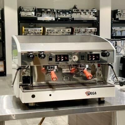 Immaculate Wega 2 Group Atlas Commercial Coffee Machine
