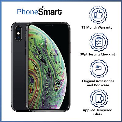 Apple iPhone XS-64GB/256/512GB - Space Grey/Silver/Gold - Unlocked - All Grades