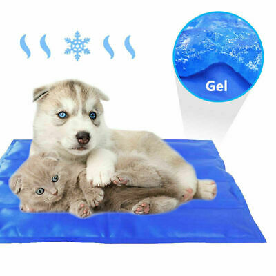 Pet New Cooling Mat Summer Cold Gel Pad Bed Comfortable Cushion forDog Puppy Cat