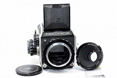 Bronica EC Medium Format Film Camera with 75/2.8 Lens Excellent from Japan F/S