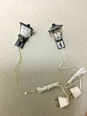 1:12 Dollhouse Miniature Lamp Use Electrical Connector Strip For 9V Battery ✿