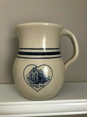 Bridges of Madison County- FRANCESCA'S HOUSE Stoneware pitcher Collectible