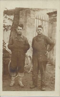 Two World War Era Soldiers,French? Real Photo