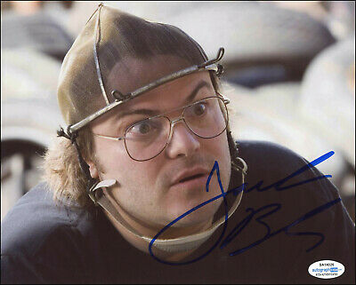 Rewind Glossy 8x10 Photo Jack Black Signed Autographed Be Kind COA Matching Holograms