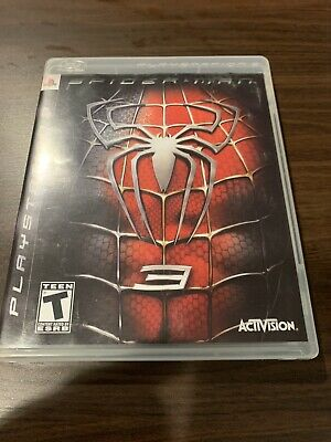 Spider-Man 3 (Sony PlayStation 3, 2007) Complete with Manual