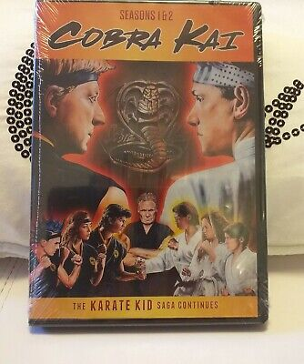 *Cobra Kai Season 1 & 2 Dvd Collector's Edition Sealed!!!!*