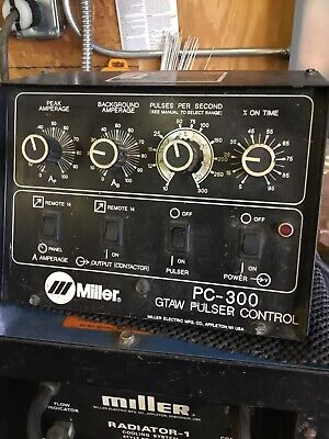 """Miller PC-300 Gtaw Pulser Control """"VERY RARE In WORKING CONDITION"""""""