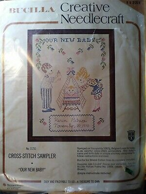 CHOICE STAMPED CROSS STITCH Needlework Kits by Bucilla • Dimensions • Janlynn
