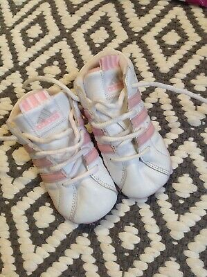adidas baby girls pram shoes trainers size 3 infant