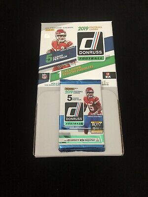 2019 DONRUSS Football (1) Pack *1 RC & 1 Yellow Parallel Inside-BUY 3 GET 1 FREE