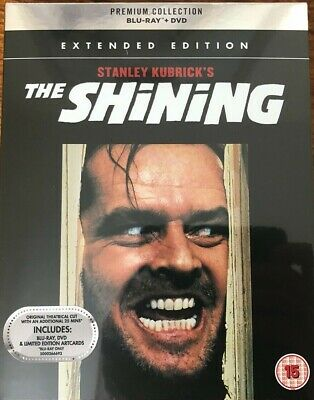 The Shining  (Premium Collection) Blu Ray and DVD